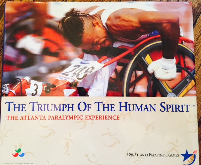 Atlanta Paralympic Book Cover